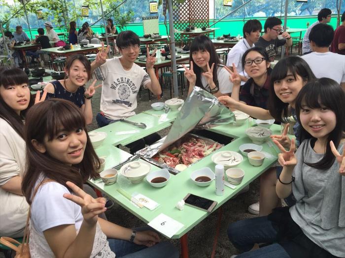 夏合宿の写真